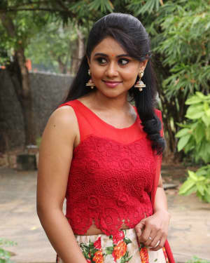 Punnagai Poo Gheetha at Sangu Chakkaram Movie Audio Launch Photos