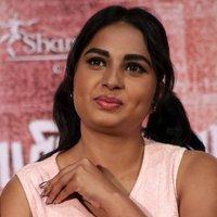Actress Srushti Dange at Mupparimanam Press Meet Photos