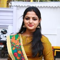 Actress Nikhila Vimal Looking Beautiful at Panjumittai Movie Audio Launch Stills | Picture 1473053