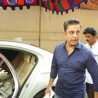 Kamal Hassan - Celebs Paying Last Respects to Actor Chandra Haasan wife Githamani Photos