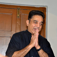 Kamal Haasan Press Meet Regarding Jallikattu Protest Photos