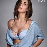 Amy Jackson For Maxim Cover Girl Photoshoot