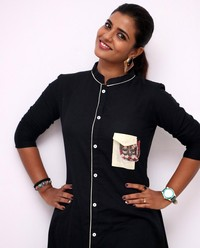 Aishwarya Rajesh at Gemini Ganeshanum Suruli Raajanum Team Interview | Picture 1516722