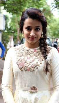 Trisha Krishnan - 96 Movie Pooja Photos