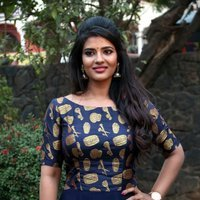 Aishwarya Rajesh Stills at Kattappava Kaanom Movie Press Meet