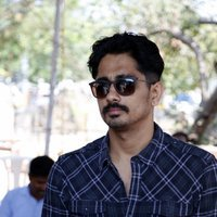Siddharth - Celebrities at Actress Varalakshmi Sarathkumar's Save Shakti Campaign Photos