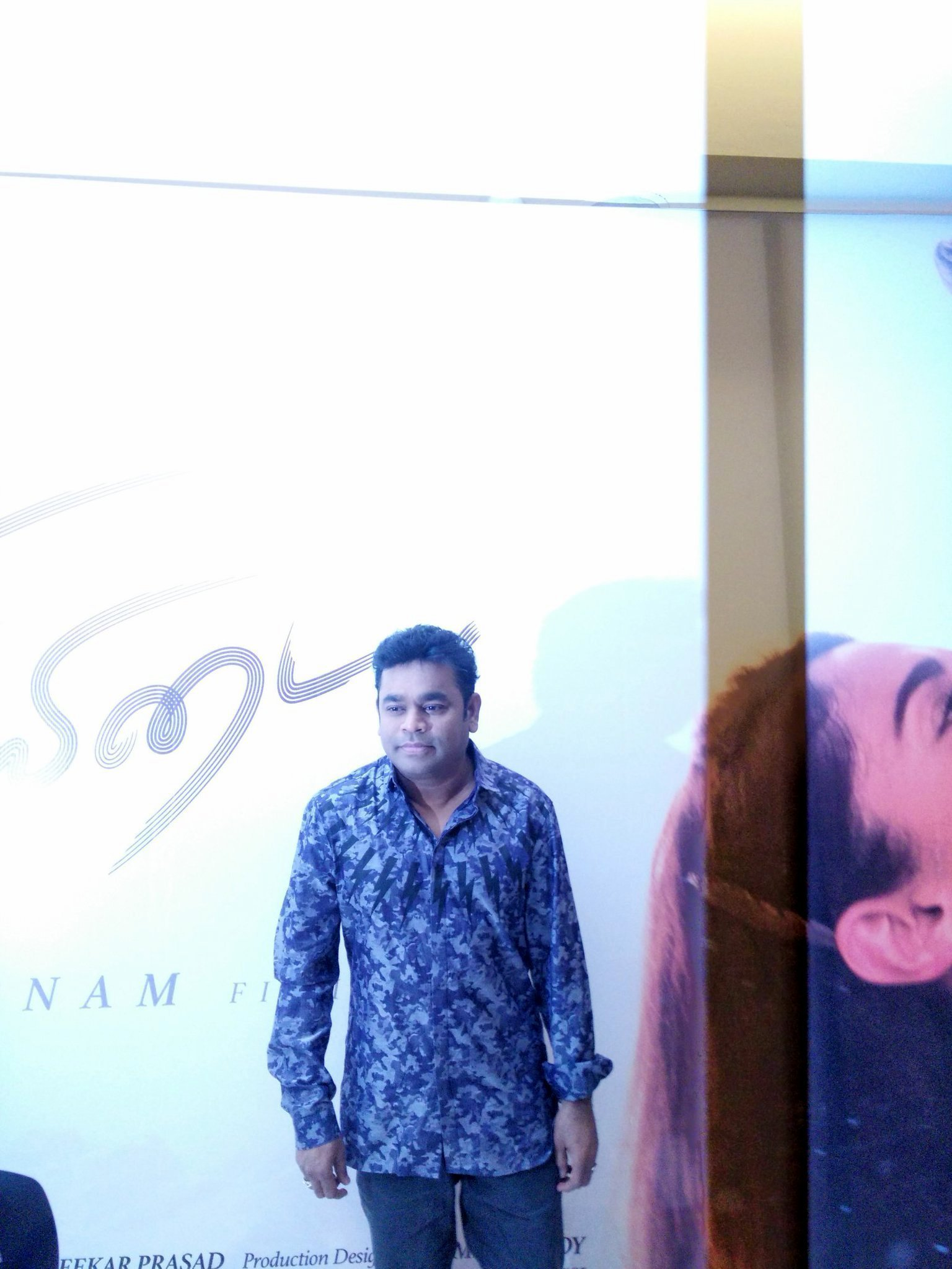 A. R. Rahman @ Kaatru Veliyidai Movie Audio Launch Stills