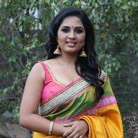 Srushti Dange Stills at Saravanan Irukka Bayamaen Press Meet