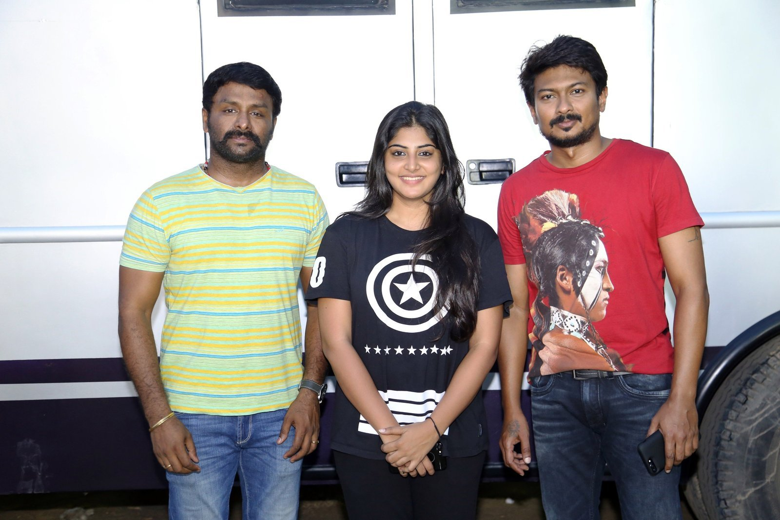 Udhayanidhi Stalin and Manjima Mohan Untitled Movie Shooting Wrapped Up Photos