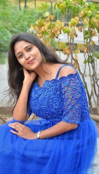 Actress Jyothisha Stills at Maya Mohini Movie Audio Launch