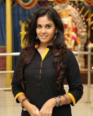 Chandini Tamilarasan - Karichoru Movie Pooja Photos