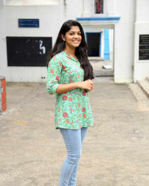 Aparna Balamurali - Sarvam Thaala Mayam Movie Launch and Pooja Photos