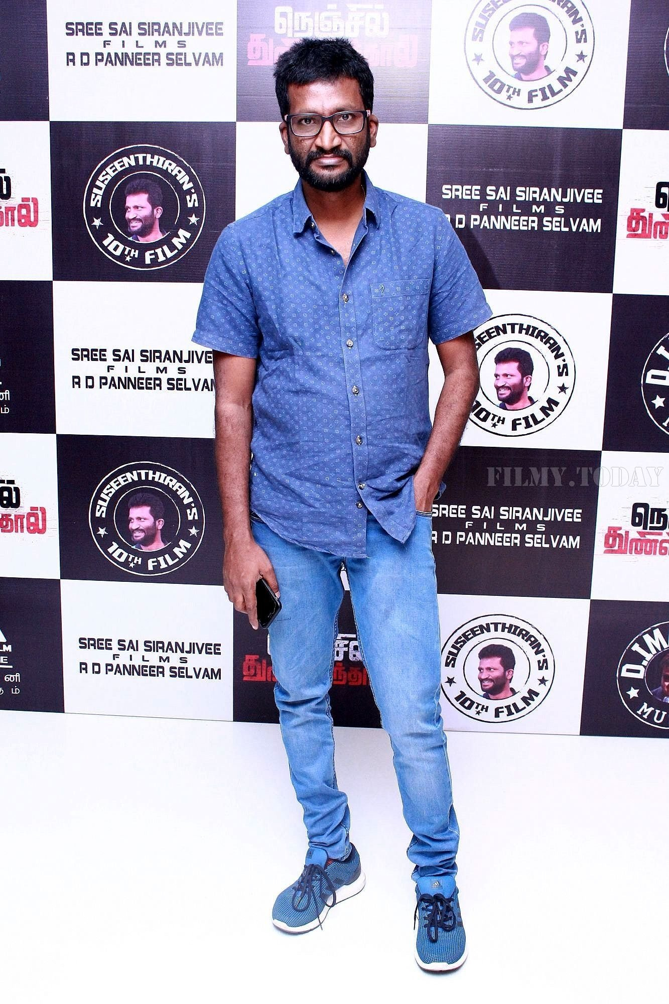 Suseenthiran @ Nenjil Thunivirunthal Movie Audio Launch Photos