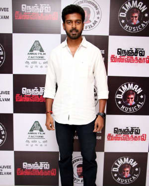 Vikranth Santhosh - Nenjil Thunivirunthal Movie Audio Launch Photos