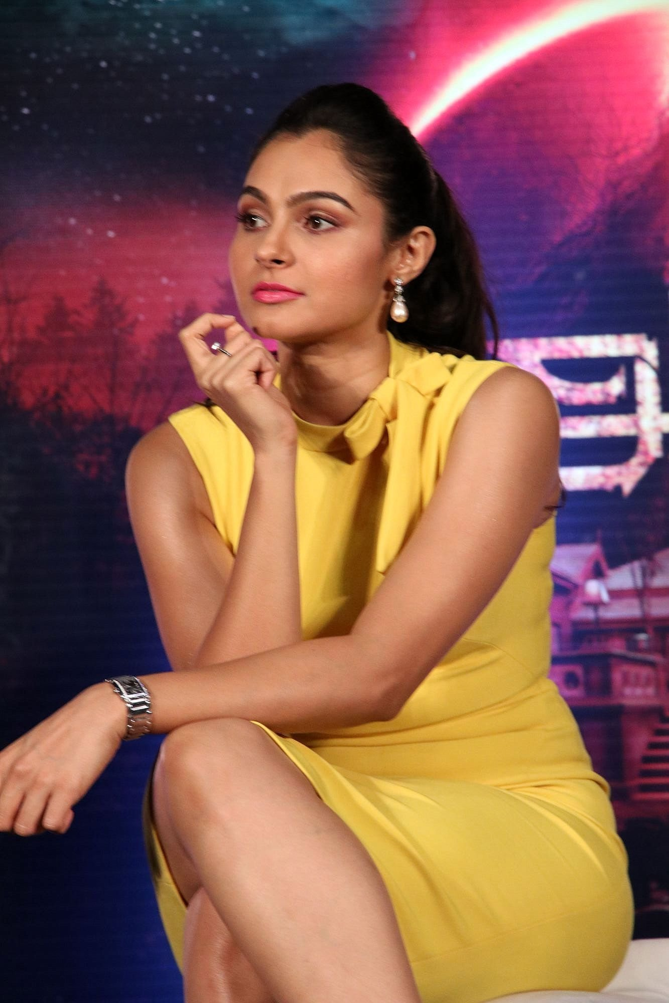 Andrea Jeremiah @ Aval Movie Trailer Launch Photos