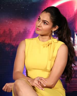 Andrea Jeremiah - Aval Movie Trailer Launch Photos