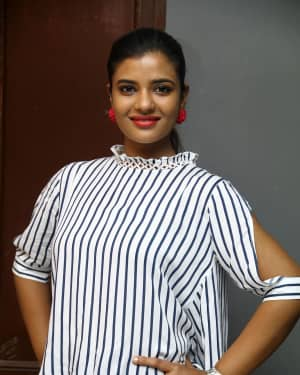 Actress Aishwarya Rajesh at Sathya NJ Fashion Home Launch Photos