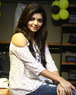 Actress Athulya Ravi at Sathya Fashion Home Launch Photos | Picture 1535494