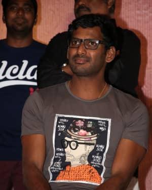 Vishal Krishna - Nenjil Thunivirundhal Movie Press Meet Photos