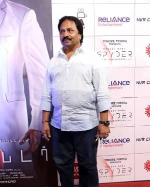 A. M. Rathnam - Spyder Movie Audio Launch in Chennai Photos