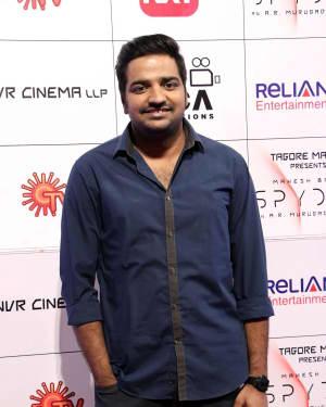 Sathish Muthukrishnan - Spyder Movie Audio Launch in Chennai Photos | Picture 1526319