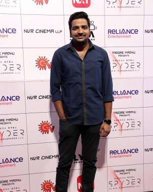Sathish Muthukrishnan - Spyder Movie Audio Launch in Chennai Photos