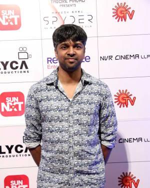 Madhan Karky - Spyder Movie Audio Launch in Chennai Photos