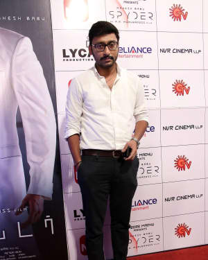 RJ. Balaji - Spyder Movie Audio Launch in Chennai Photos