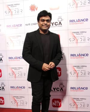 Harris Jayaraj - Spyder Movie Audio Launch in Chennai Photos
