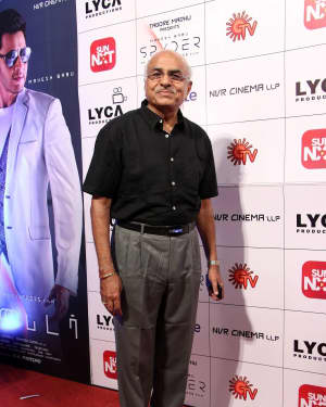 R. B. Choudary - Spyder Movie Audio Launch in Chennai Photos