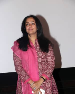 Actress Jyothika Stills at Magalir Mattum Press Show