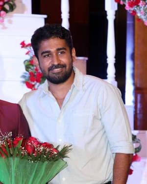 Vijay Antony (Musician) - Music Director Dharan Kumar - Actress Deekshitha Wedding Reception Photos