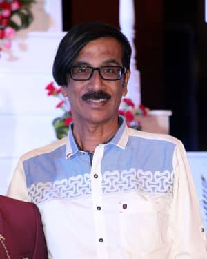 Manobala - Music Director Dharan Kumar - Actress Deekshitha Wedding Reception Photos