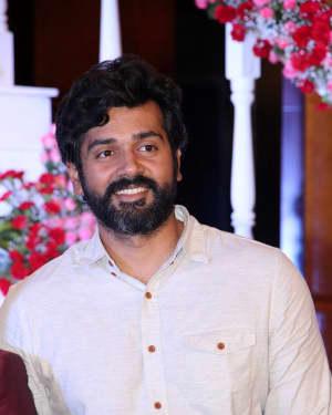 Ashwin Kakumanu - Music Director Dharan Kumar - Actress Deekshitha Wedding Reception Photos