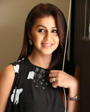 Actress Nikki Galrani Stills at Hara Hara Mahadevaki Press Meet