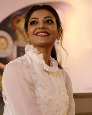 Kajal Aggarwal - Paris Paris Movie Pooja Photos | Picture 1531021