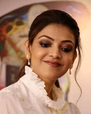 Kajal Aggarwal - Paris Paris Movie Pooja Photos | Picture 1531008