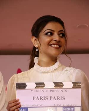 Kajal Aggarwal - Paris Paris Movie Pooja Photos | Picture 1531002