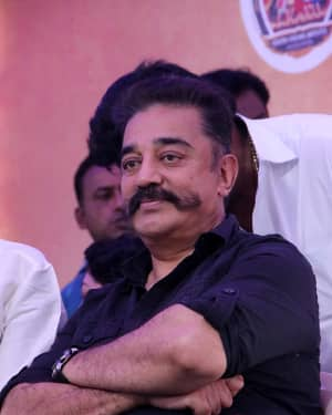 Kamal Hassan - Photos: Tamil Film Industry's protest against Sterlite and Cauvery Issue