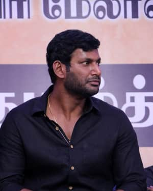 Vishal Krishna - Photos: Tamil Film Industry's protest against Sterlite and Cauvery Issue