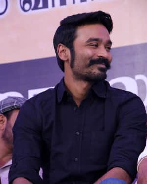 Dhanush - Photos: Tamil Film Industry's protest against Sterlite and Cauvery Issue