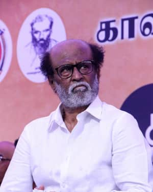 Rajinikanth - Photos: Tamil Film Industry's protest against Sterlite and Cauvery Issue