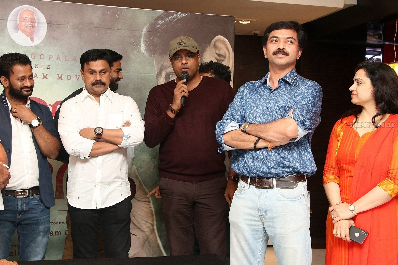 Kammara Sambhavam Movie Premier Show In Chennai Photos