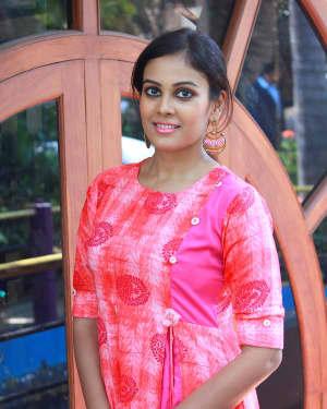 Actress Chandini Tamilarasan Stills at Aila Movie Pooja