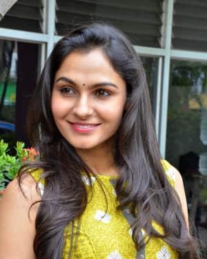 Andrea Jeremiah - Kaa Movie Pooja Stills