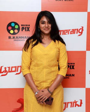 Indhuja Ravichandran - Boomerang Tamil Film Audio Launch Photos
