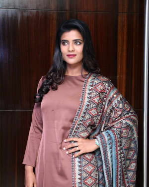 Aishwarya Rajesh Stills at Lakshmi Movie Press Meet