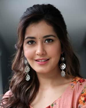 Rashi Khanna Photos at Adanga Maru Movie Promotions