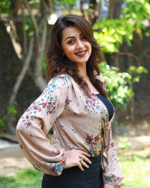Actress Nikki Galrani at Kalakalappu 2 Press Show Photos