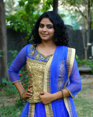 Actress Gayatri Rema Stills at Kasu Mela Kasu Movie Audio Launch